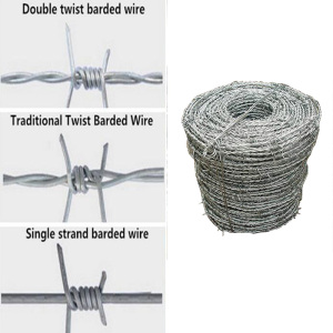 barbed wire price per roll