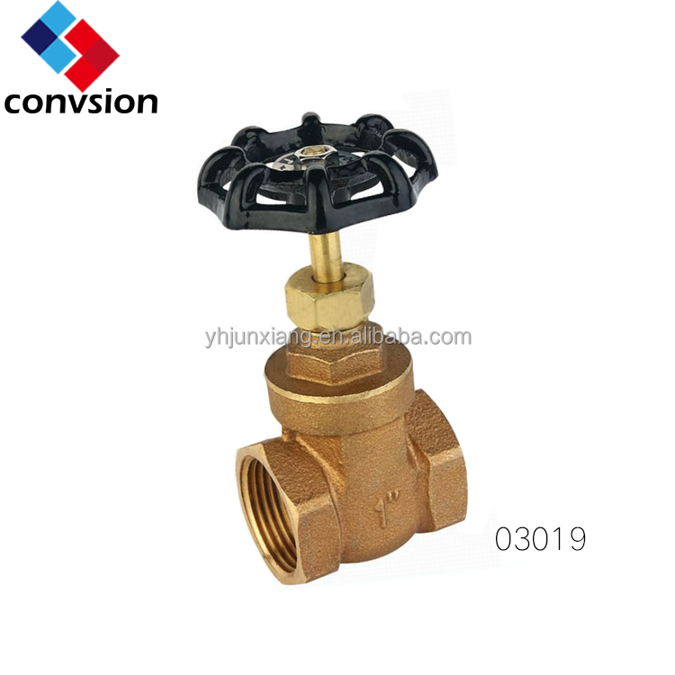 JUNXIANG Threaded Bronze Stem Gate Valve