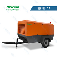 Stone quarrying 90kw screw air compressor