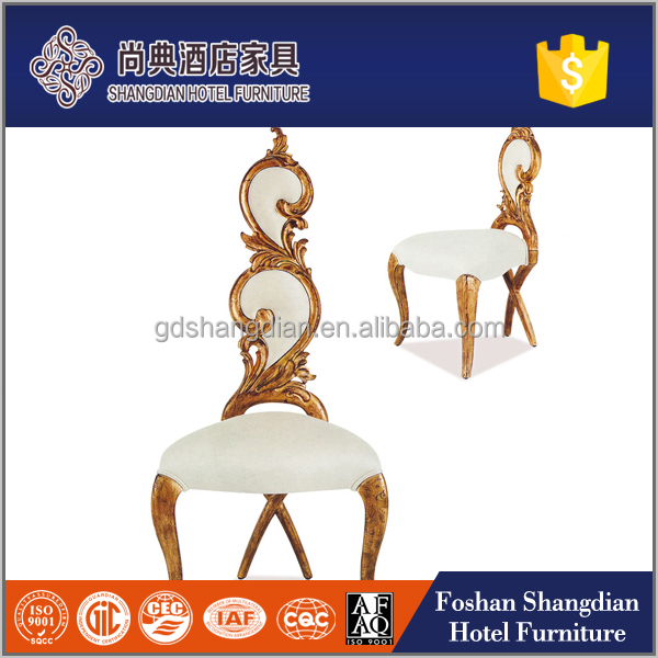 Wholesale cheap wooden classic gold royal king throne chair