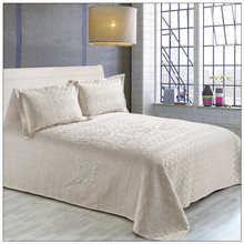 Shanghai embroidery bed cover/ribbon embroidery bedding set