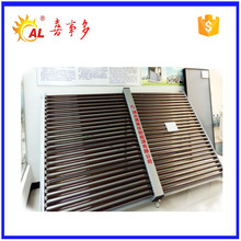 High efficiency concentrated swimming pool evacuated tube solar thermal collector