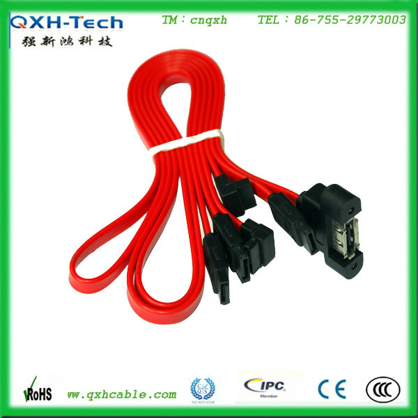 High quality 0.5M 1M 2M 7Pin SATA flat cable flexible cable