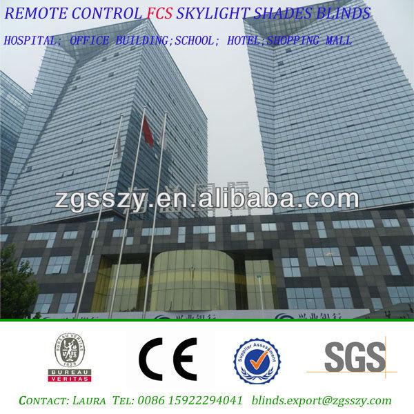 Tianjin control remoto techo tragaluz tonos persianas for Remote control skylights