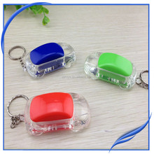 Wholesale promotional car shape led key ring light