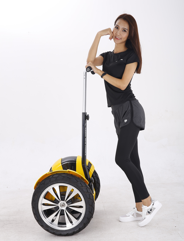 Smart two wheels electric self balancing scooter