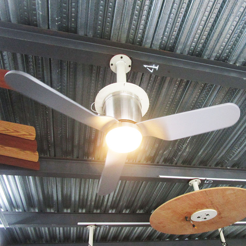 New Design Remote Control electronic ceiling fan with light