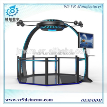 HTC VIVE 9d cinema simulator interactive 6 dof motion platform adult 3d games free download game machine