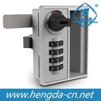 Zinc Alloy Digital combination lock for lockers with handle