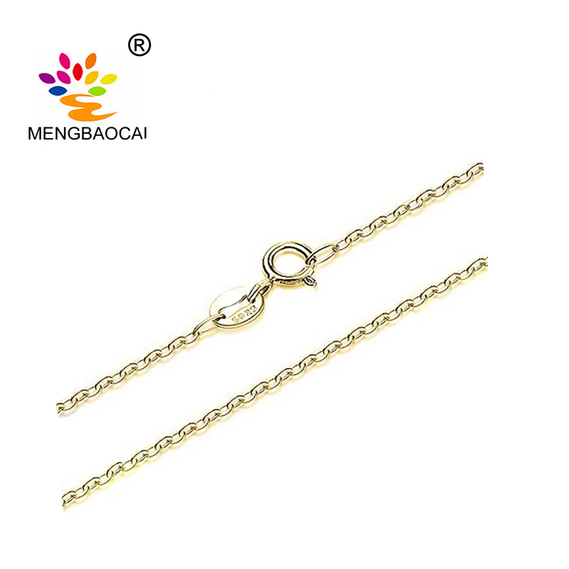 Fashion Gold plated chain mens gold chain designs 925 sterling silver chain