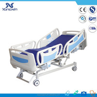 Five-function remote control hospital/ICU recliner chair bed