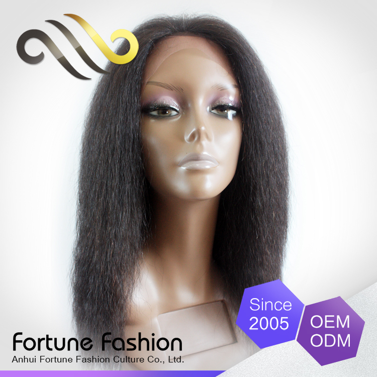 Aliexpress latest celebrity hair human lace front full lace wig for young ladies