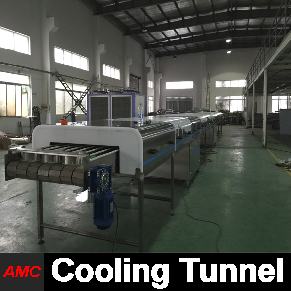 Crystallization Process Electrically Controlled electric pressure cookers Cooling Tunnel Machine For Industry Production Line