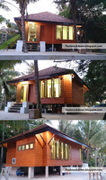 Modular/Prefab Wooden House - Resort Style