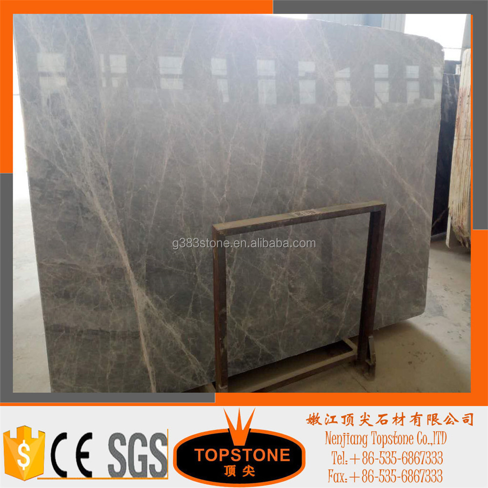 Customized Dimension Grey Marble Grey Marble Big Slabs
