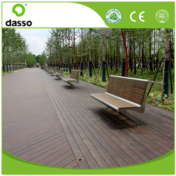 Eco friendly durable solid decking beam for resorts swimming pool