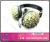 Bling bling jewelry beaded fancy generic headphones trendy virtual reality headset