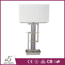 CE/UL/CUL Approved Hotel Table Lamp With Convenience Power Outlets And Base Switch