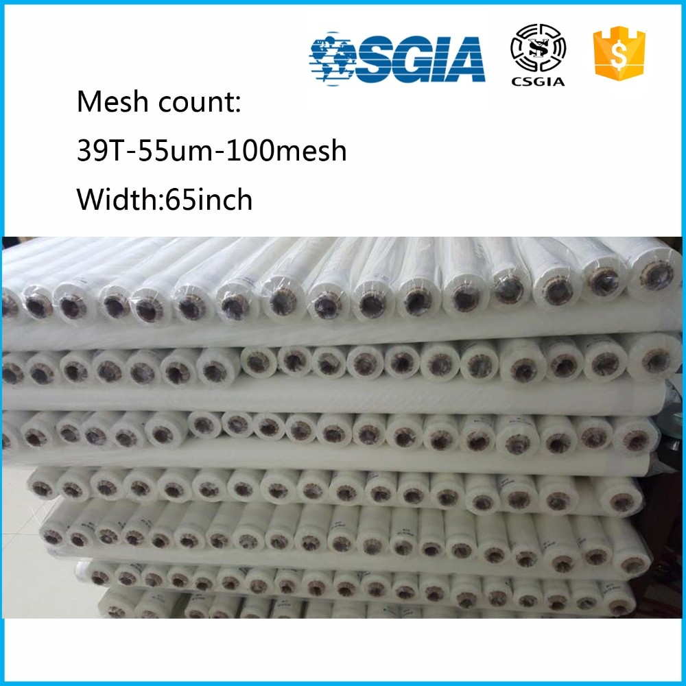 Factory Cheap Monofilament 100% Polyester Screen Printing Mesh