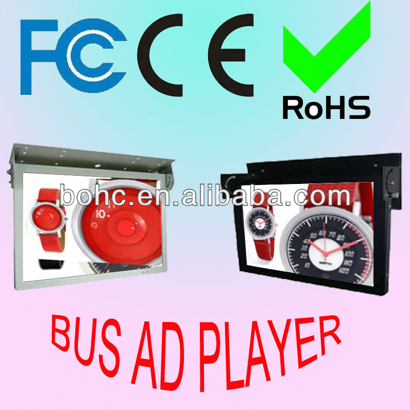 22 Inch 3G LED Bus Info Advertising System