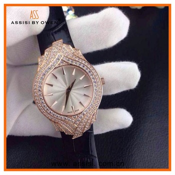 Assisi brand Diamond watch New design rose gold elegance quartz analog jewellery women wrist watch