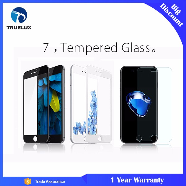 Ultrathin 9H Mobile Phone For iPhone 7 Tempered Screen Protector