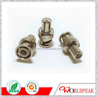 RF connector BNC Male To RCA Female Adaptor for coaxial cable