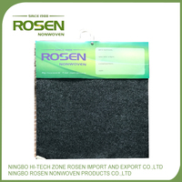 RS NONWOVEN polyester eco-friendly speaker box needle felt with wholesale price