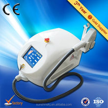 Portable small size laser hair removal germany with DVD and Manual