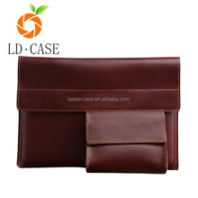 Laptop Genuine Leather Liner Bag Tablet Case for Macbook 13.3 Wholesale