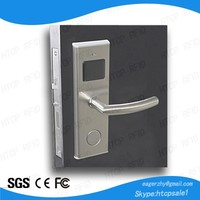 Europen Mortise Type Battery Operated hotel electronic key card door lock
