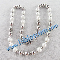 Bead Necklace Fake Pearl designs wholesale Good Price Jewellery