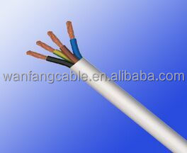 CE certificated H05VV-F/H05VVH2-F 1.0mm wire and cable