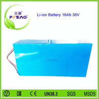 26650 cell composed lifepo4 36v/16ah lithium battery pack