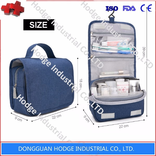 2017 newest fashion polyester cosmetic packaging bag makeup case