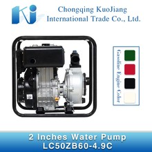 2-inch LC50ZB60-4.9C air cooled farm irrigation diesel high lift water pump