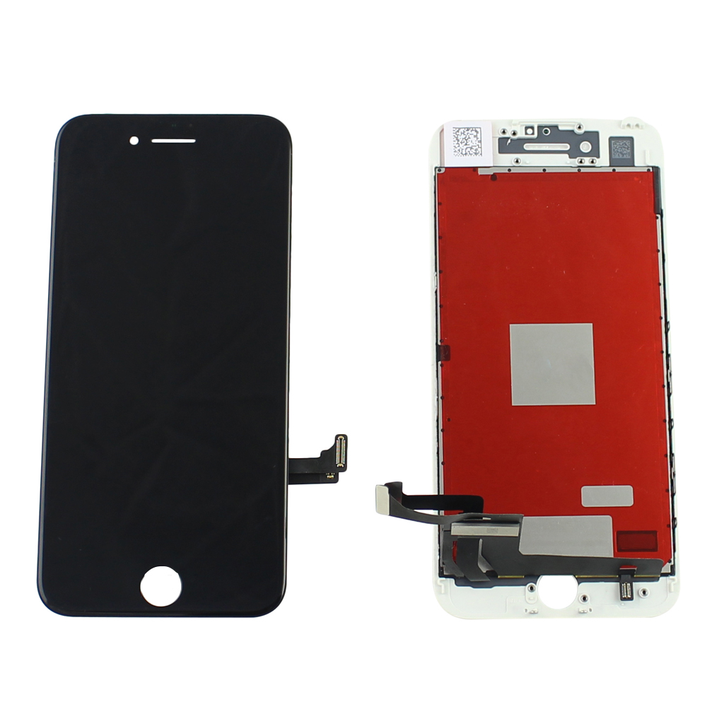 mobile spare parts strong frame mobile phone lcd screen,touch screen display for iphone 7