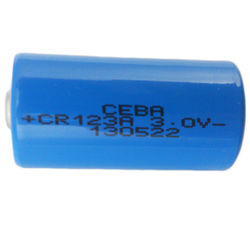 Lithium battery cr123a 3v dry cell
