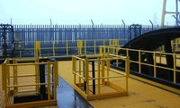 offshore frp decking/ pultruded grating factory price