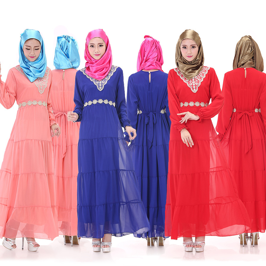 2016 Islamic Maxi Dress Abaya Dubai Style Muslim Dress Islamic Clothing Abaya Buy Moslem Dress
