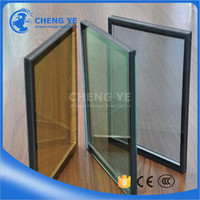 Factory Price Hollow 6mm Extra Clear DGU IGU Double Glazing Glass For Hotel