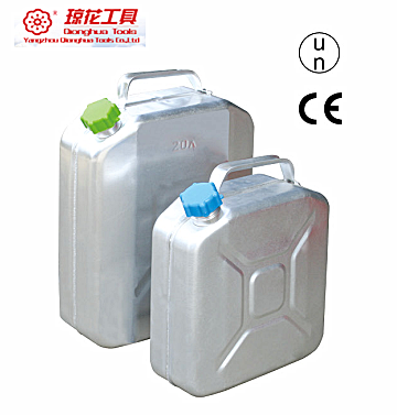 Portable metal petrol 20L aluminium jerry can 10L 20L jerry cans for sale