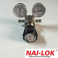 316 stainless steel gas pressure regulator