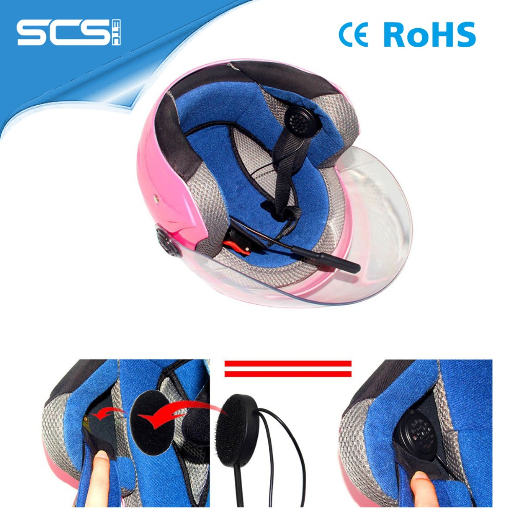 motorcycle helmet bluetooth headset/intercom