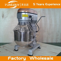 China Factory Wholesale High Quality Heavy Duty planetary dough mixing machine with Whisk, beater, Spiral and bowl