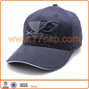 3D embroidery logo flex fit hat in 6 panel