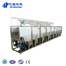 1000-2000BPH Good Quality Stainless Steel 304 Material Beer Bottles Cans Tunnel Pasteurizer For Sale