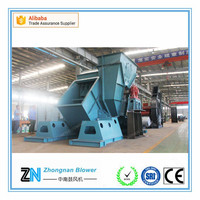 Cement raw mill and Finishing mill kiln Duct preheater fan