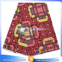 100% cotton african print wax tope quality long batik skirts for women