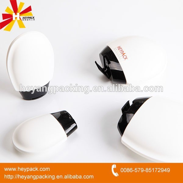 Body cream/lotion storaged heart shaped plastic bottle